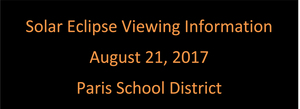 Solar Eclipse Viewing Information