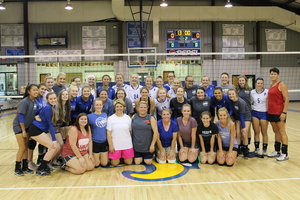 Alumni Volleyball Match